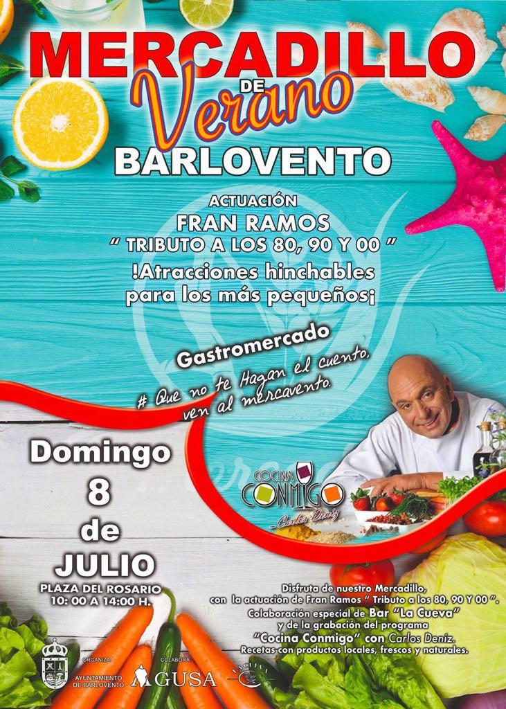 MERCADILLO DE VERANO DE BARLOVENTO.