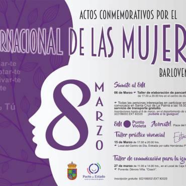 """""""El Ayuntamiento de Barlovento se suma al 8M"""""""